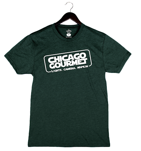 Chicago Gourmet 2019 - Chicago Solo - Unisex/Men's Crew - Heather Forest
