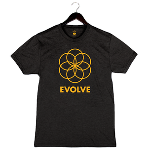 Evolve by Pete Evans - Unisex/Men's Crew - Black