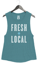 Fresh + Local - Women's Muscle Tank