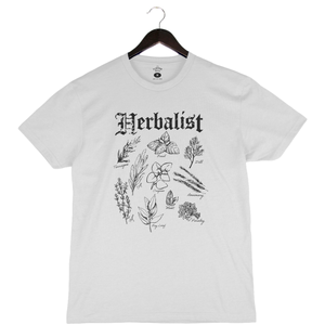 Herbalist -Unisex/Men's Keeper Tee - White