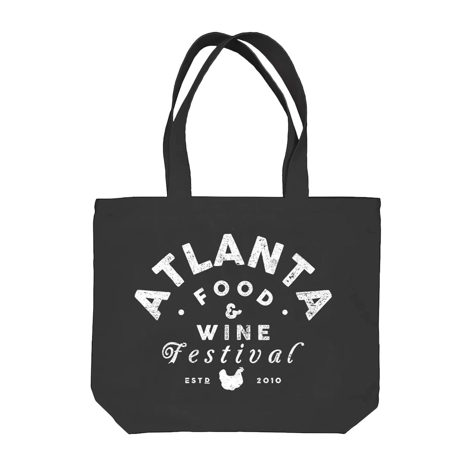 AFWF '19 - Chicken - Tote Bag - Black