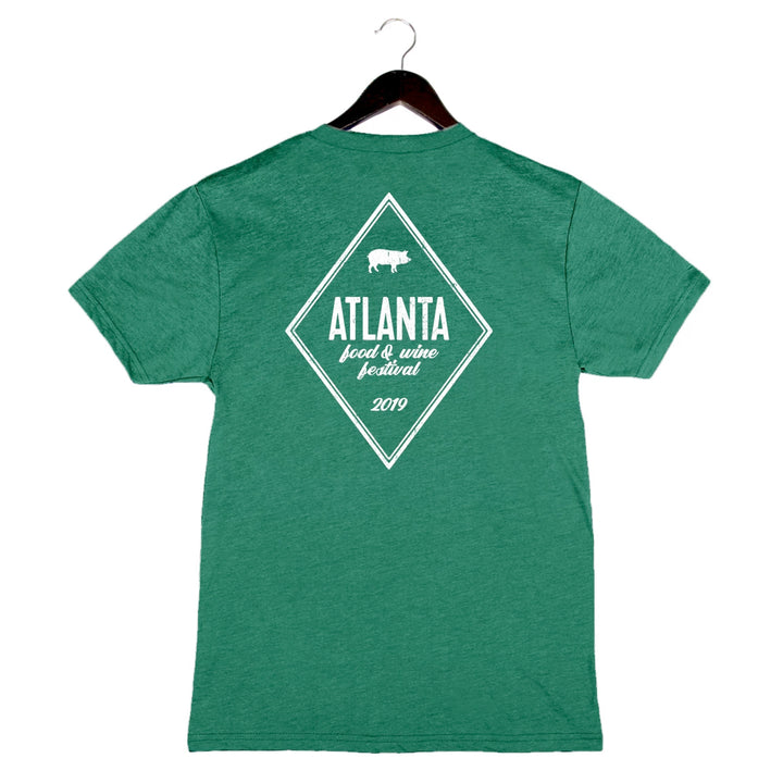 AFWF '19 - Diamond - Unisex/Men's Crew - Green