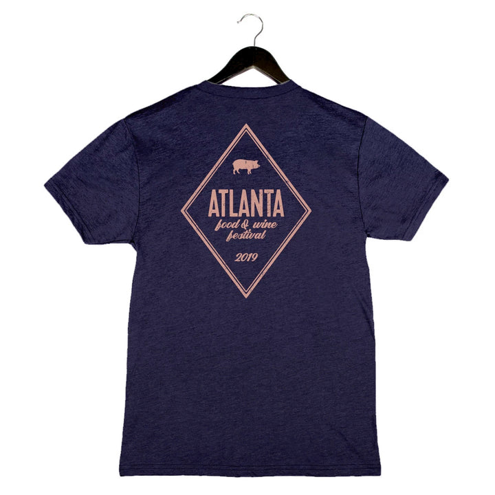 AFWF '19 - Diamond - Unisex/Men's Crew - Navy