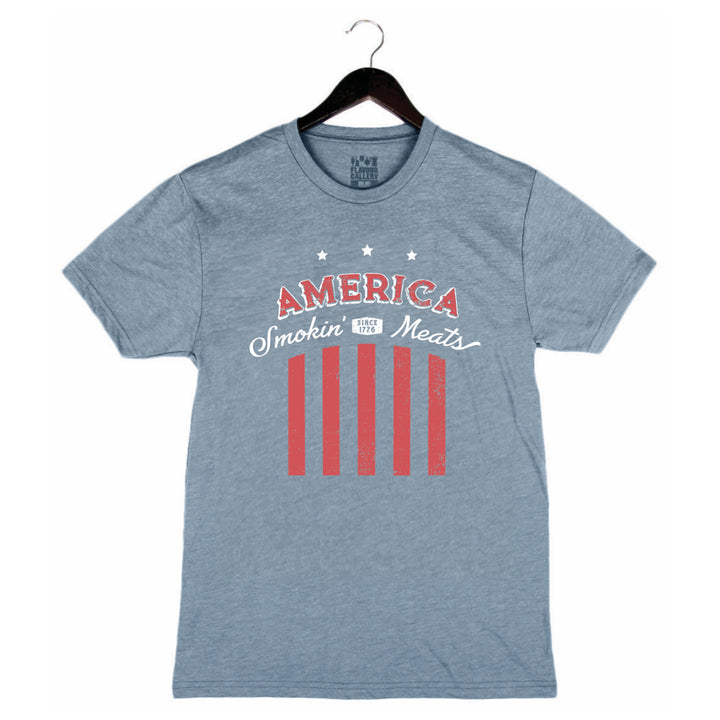 AMERICA - UNISEX/MEN'S CREW - DENIM