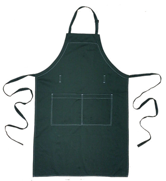 Full Bib Chef's Apron - Kale