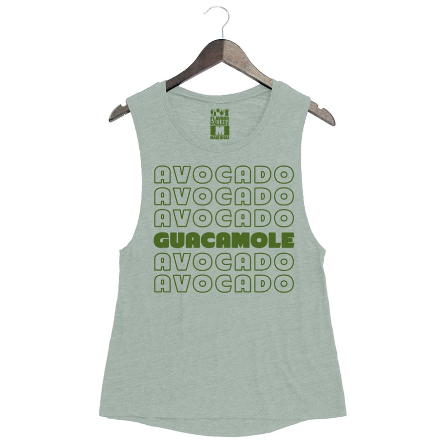 Guacamole - Women's Muscle Tank - Dusty Blue