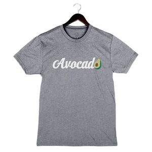 Beyond The Plate - Avocado - Unisex/Men's Crew - Heather Grey