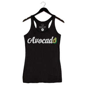 Aisle Ate - Avocado - Women's Tank - Black