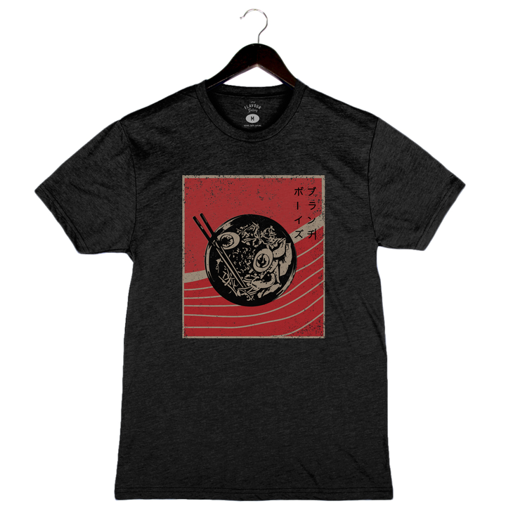 Brunch Boys - Ramen - Unisex/Men's Crew - Charcoal Black