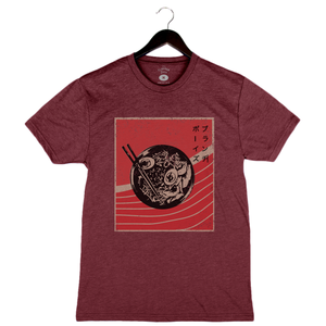 Brunch Boys - Ramen - Unisex/Men's Crew - Cardinal Red
