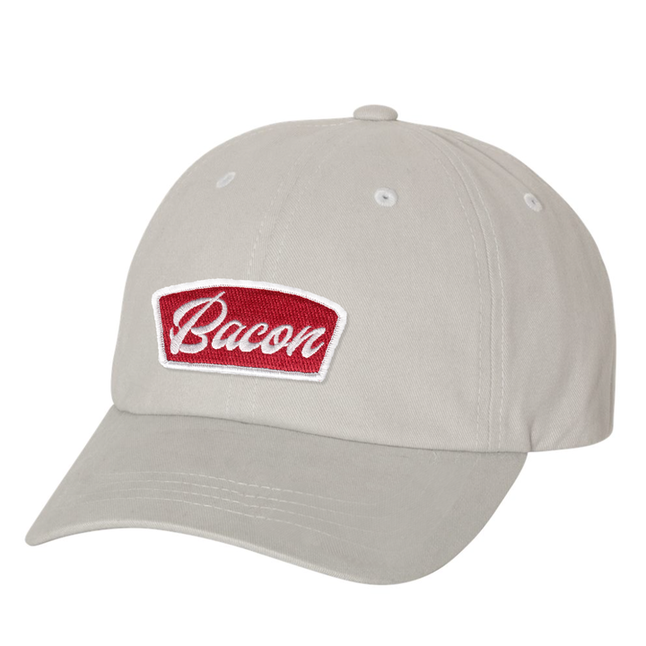 Bacon - Dad Cap - Light Grey