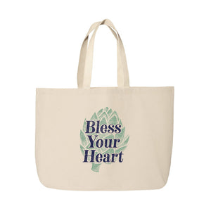 Bless Your Heart Beach Tote Bag