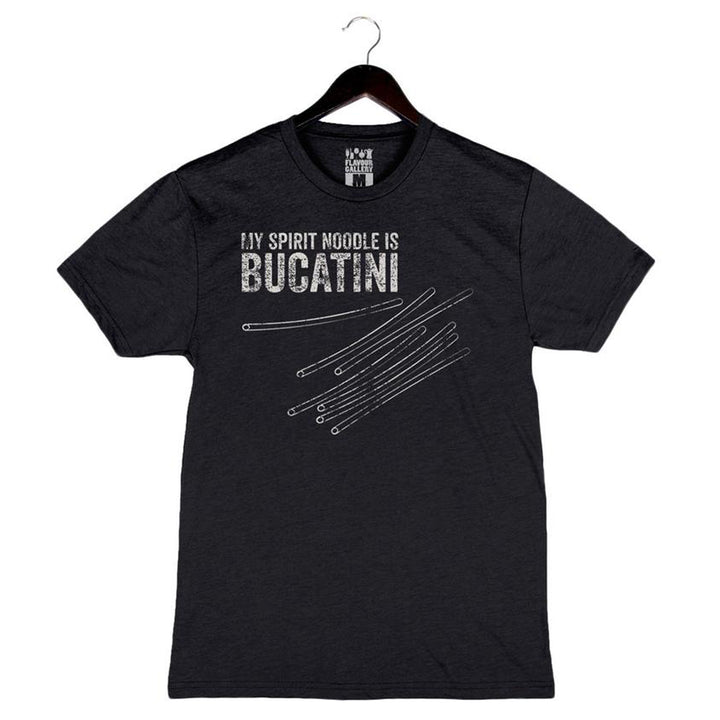 My Spirit Noodle Is Bucatini by Bruce Kalman - Men's Crew