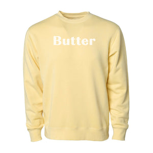 Butter - Unisex Crewneck Sweatshirt - Yellow