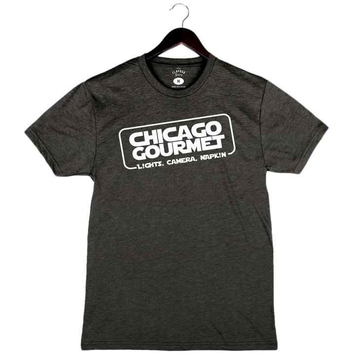 Chicago Gourmet 2019 - Chicago Solo - Unisex/Men's Crew - Black