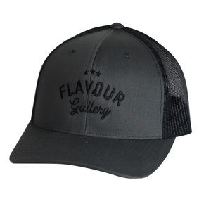 Flavour Gallery New Logo - Trucker Cap - Charcoal Black