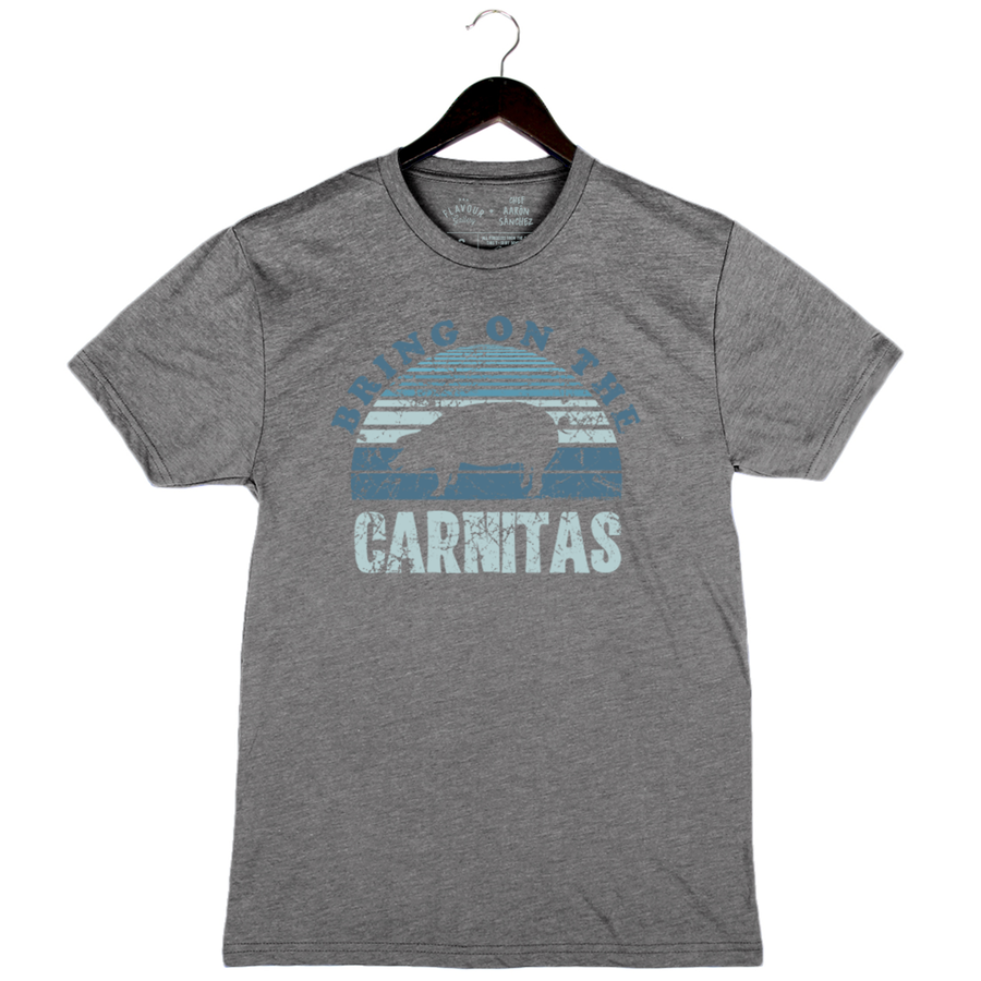 Carnitas by Aarón Sánchez - Unisex/Men's Crew - Heather Grey