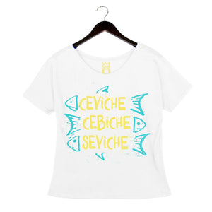 Ceviche, Cebiche, Seviche by Anthony Lamas - Women's Loose Top