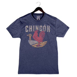 Chingón by Aarón Sánchez - Men's Shirt - Navy
