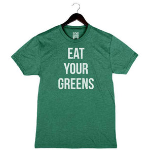 Eat Your Greens - Unisex/Men's Crew - Grass Green