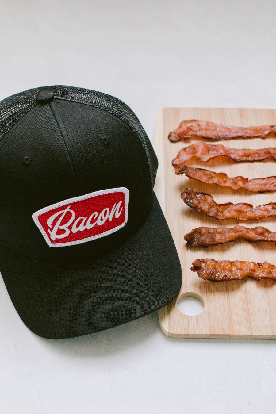 Bacon - Trucker Cap - Black