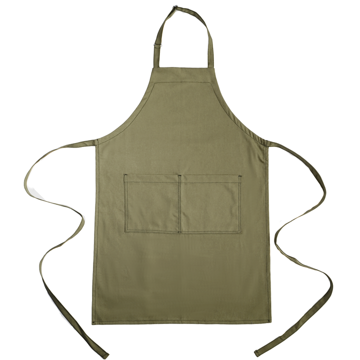 Full Bib Chef's Apron - Tobacco
