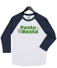 Pesto is the Besto - Unisex Baseball Tee