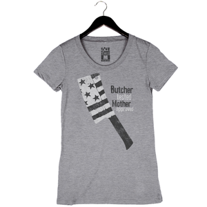 Cleaver by Matthew Jennings - Women's Crew - Heather Grey