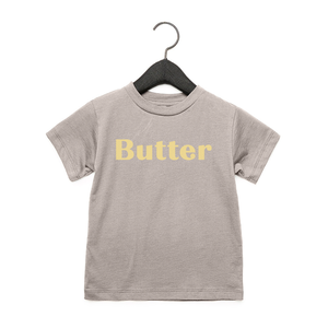 Butter - Toddler Jersey Tee - Heather Stone