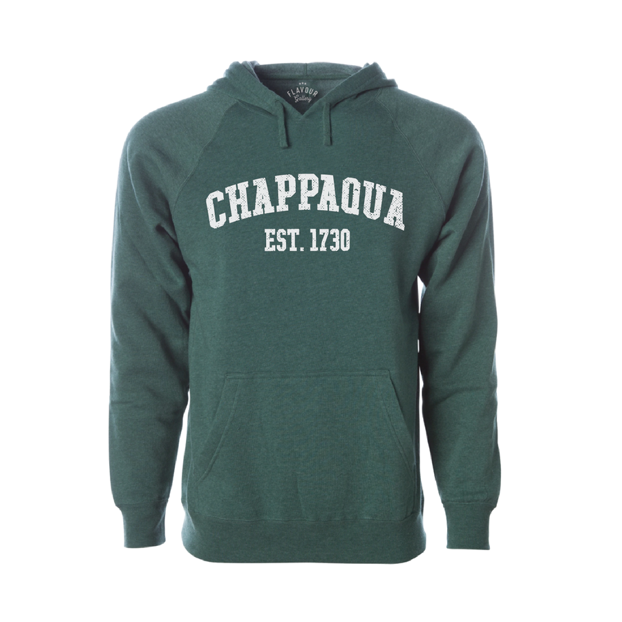 CHAPPAQUA SCHOOL FOUNDATION - EST. 1730 - Adult Hoodie - Forest Green