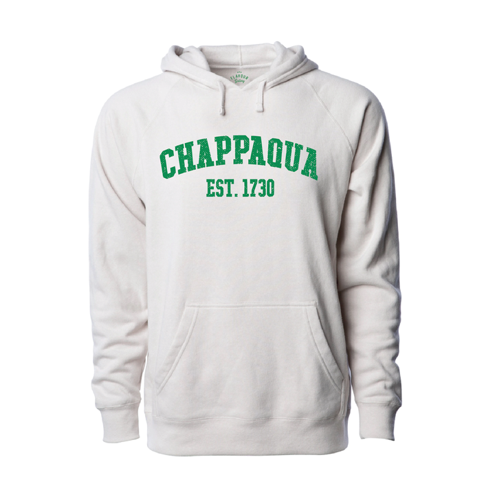CHAPPAQUA SCHOOL FOUNDATION - EST. 1730 - Adult Hoodie - Stone Heather