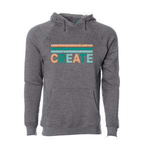 CHAPPAQUA SCHOOL FOUNDATION - Create - Adult Hoodie - Heather Grey
