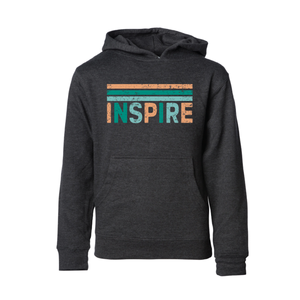 CHAPPAQUA SCHOOL FOUNDATION - Inspire - Youth Hoodie - Charcoal