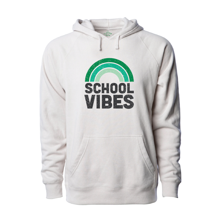 CHAPPAQUA SCHOOL FOUNDATION - School Vibes - Adult Hoodie - Stone Heather