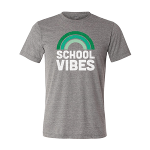 CHAPPAQUA SCHOOL FOUNDATION - School Vibes - Unisex Crew - Heather Grey