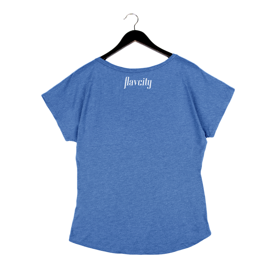 Rated Ghee By Flavcity - Women's Dolman - Vintage Royal