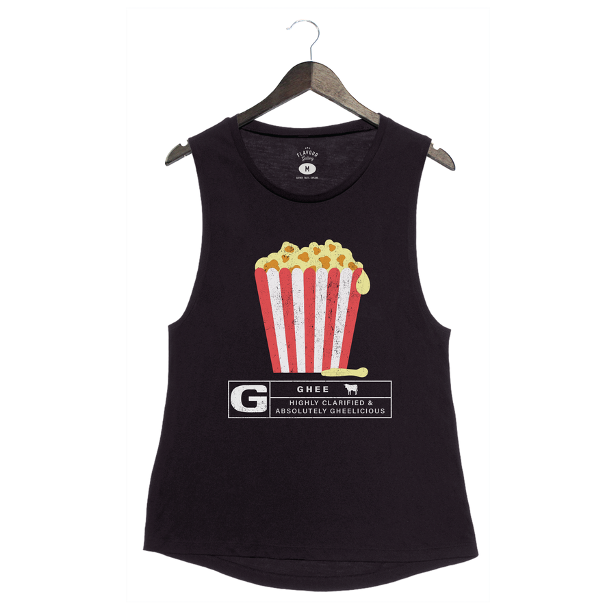 Rated Ghee By Flavcity - Women's Muscle Tank - Black
