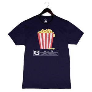 Rated Ghee By Flavcity - Unisex/Men's Crew - Navy
