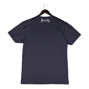 Low Carb High Class By Flavcity - Unisex/Men's Crew - Navy