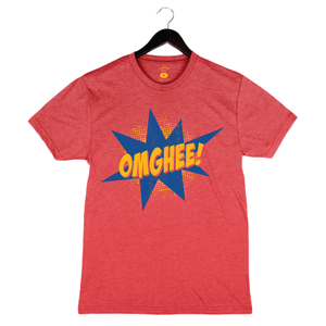 OMGHEE By Flavcity - Unisex/Men's Crew - Red