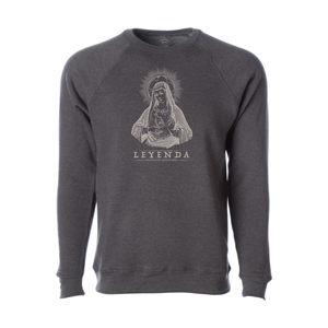 Leyenda - Mary - Crewneck Sweatshirt - Carbon