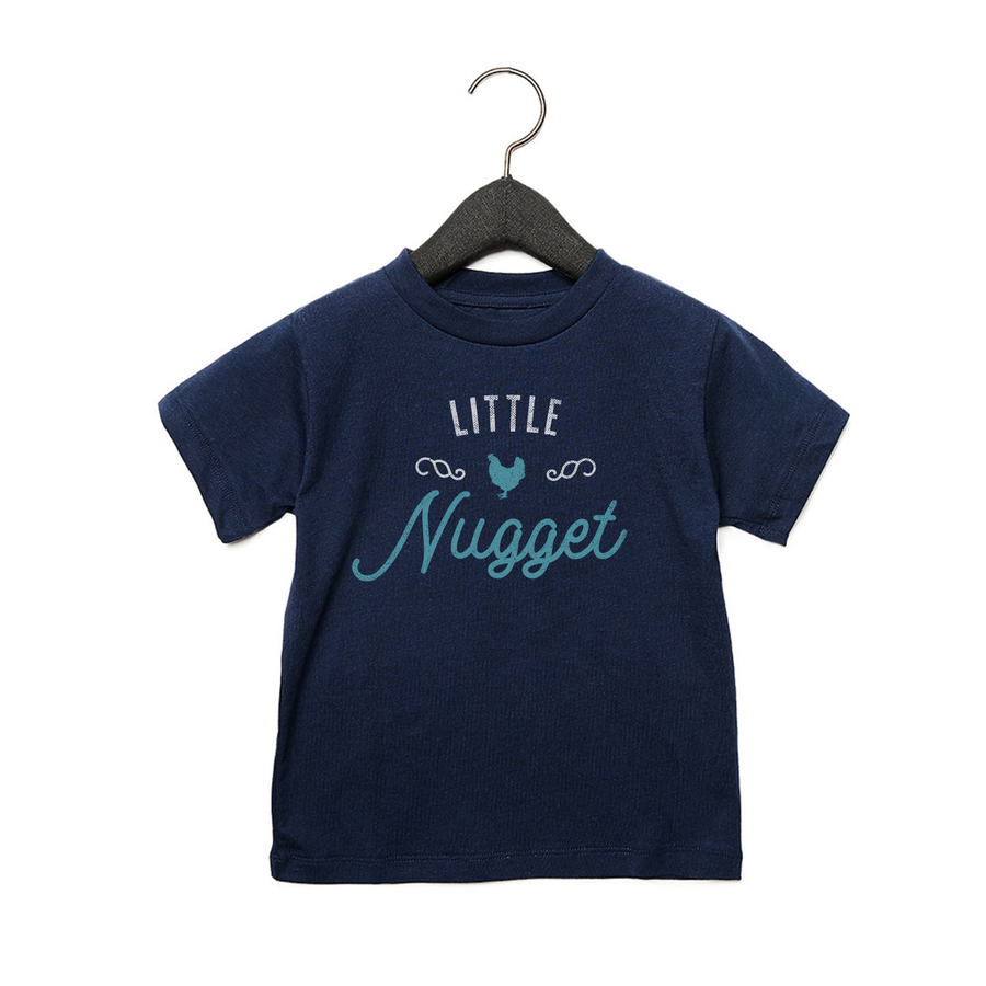 Little Nugget - Toddler Jersey Tee - Navy