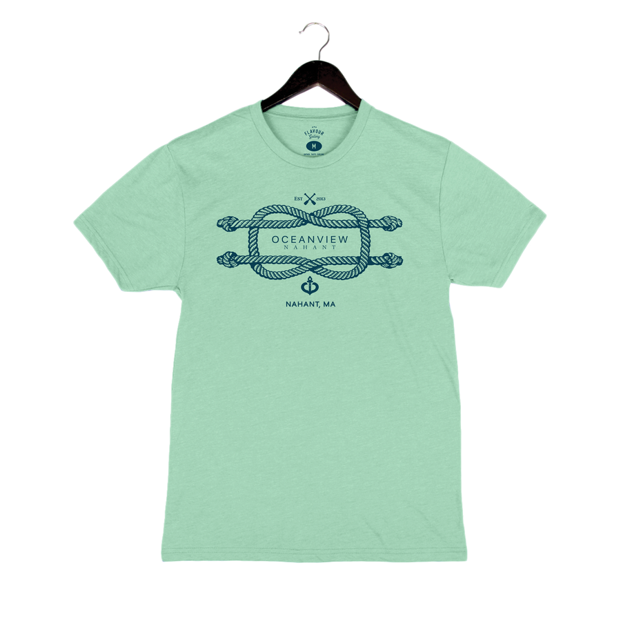 Oceanview Of Nahant - Unisex Crew - Mint