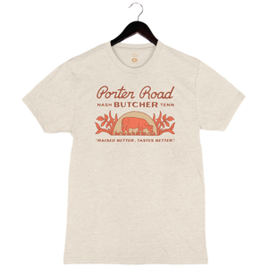 Porter Road - Unisex/Men's Crew - Oatmeal