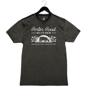 Porter Road - Unisex/Men's Crew - Vintage Black