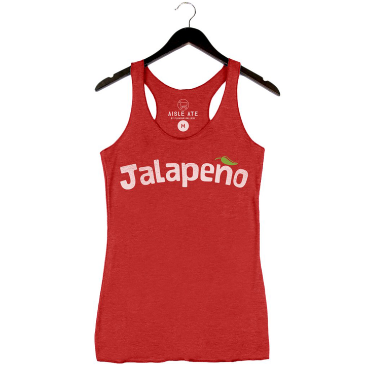 Beyond The Plate - Jalapeno - Women's Tank - Red