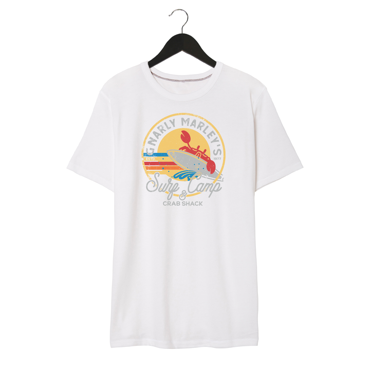 Surf Camp - Unisex/Men's Keeper Tee - White