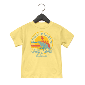Surf Camp - Toddler Jersey Tee - Yellow