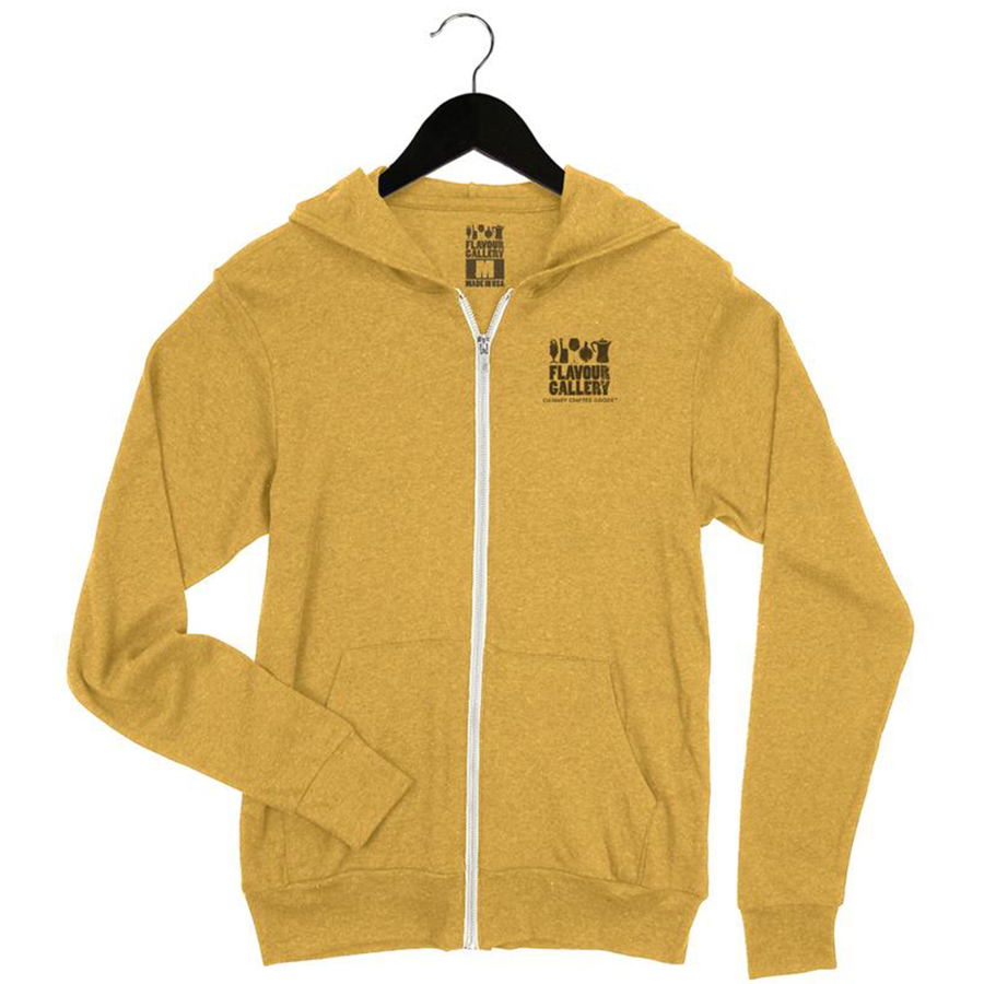 Whiskey Because Adulting is Hard - Unisex Zip Up Hoodie - Gold