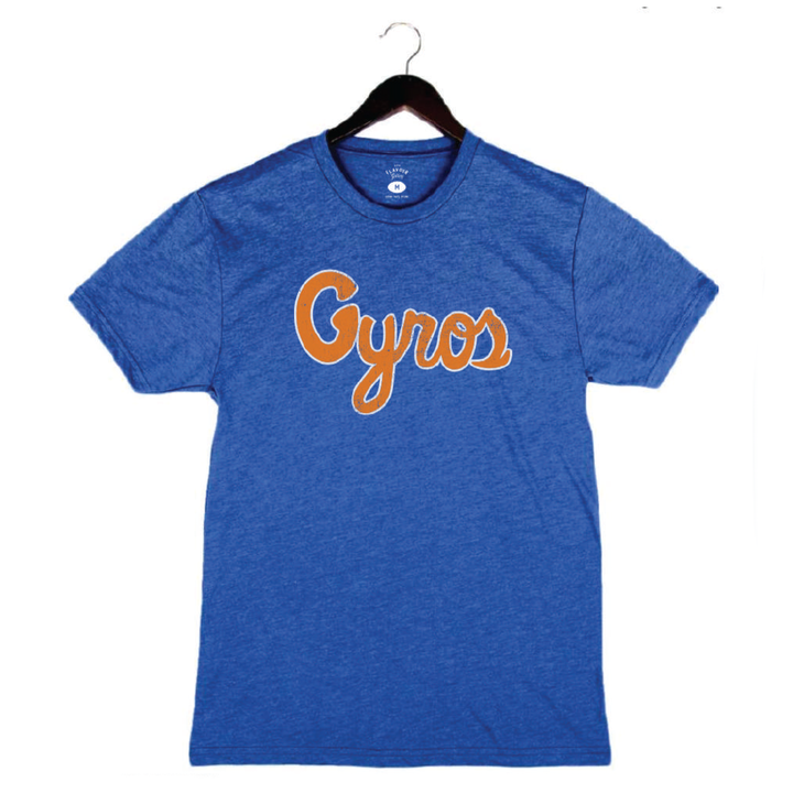 Richard Blais - Gyros - Men's/Unisex Crew - Royal Blue